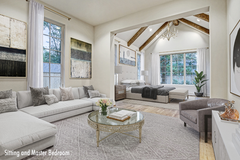 Sitting and Master Bedroom